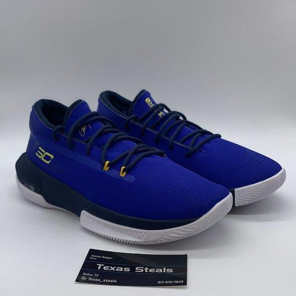 New Steph Curry Ua Gs 3zero Blue Home